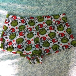 Other - Grinch Fleece Sleep Shorts